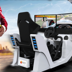 3 screen driving game hire bigfun
