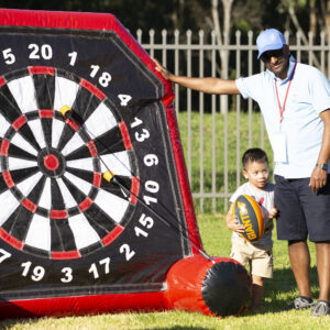 Archery Darts Australia hire from big fun inflatable games