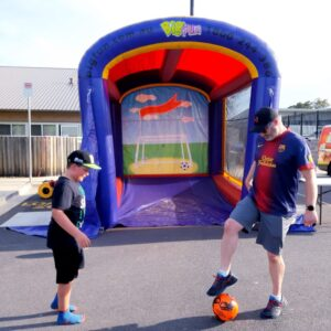 Big fun Australia speed cage hire soccer fun game party hire