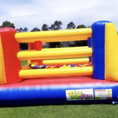 Bigfun big fun hire bouncy boxing inflatable rent Sydney NSW Australia hire party