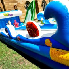 Bigfun slide water slide hire NSW sydney