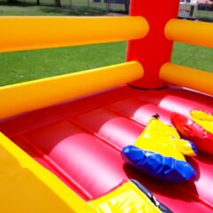 Bouncy boxing hire inflatable rent big fun Sydney Melbourne NSW Canberra