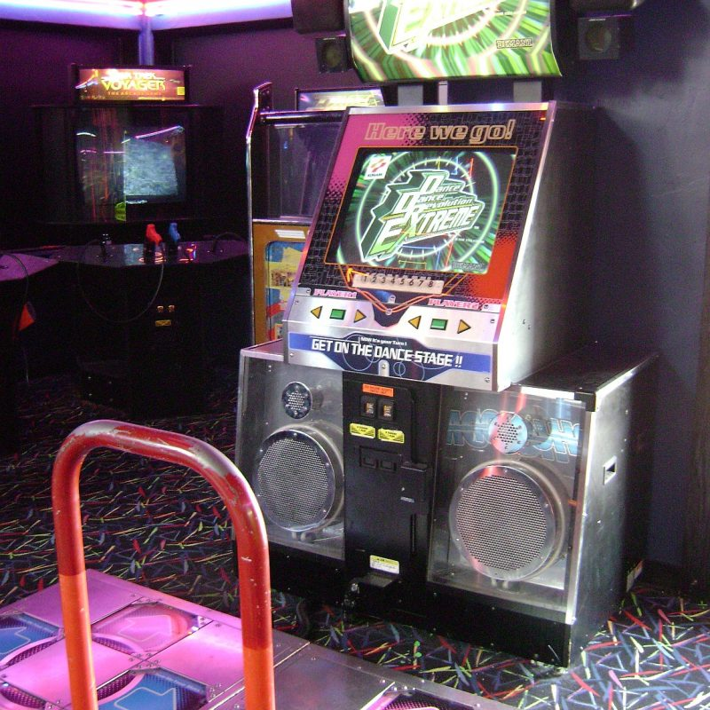DDR dance machine
