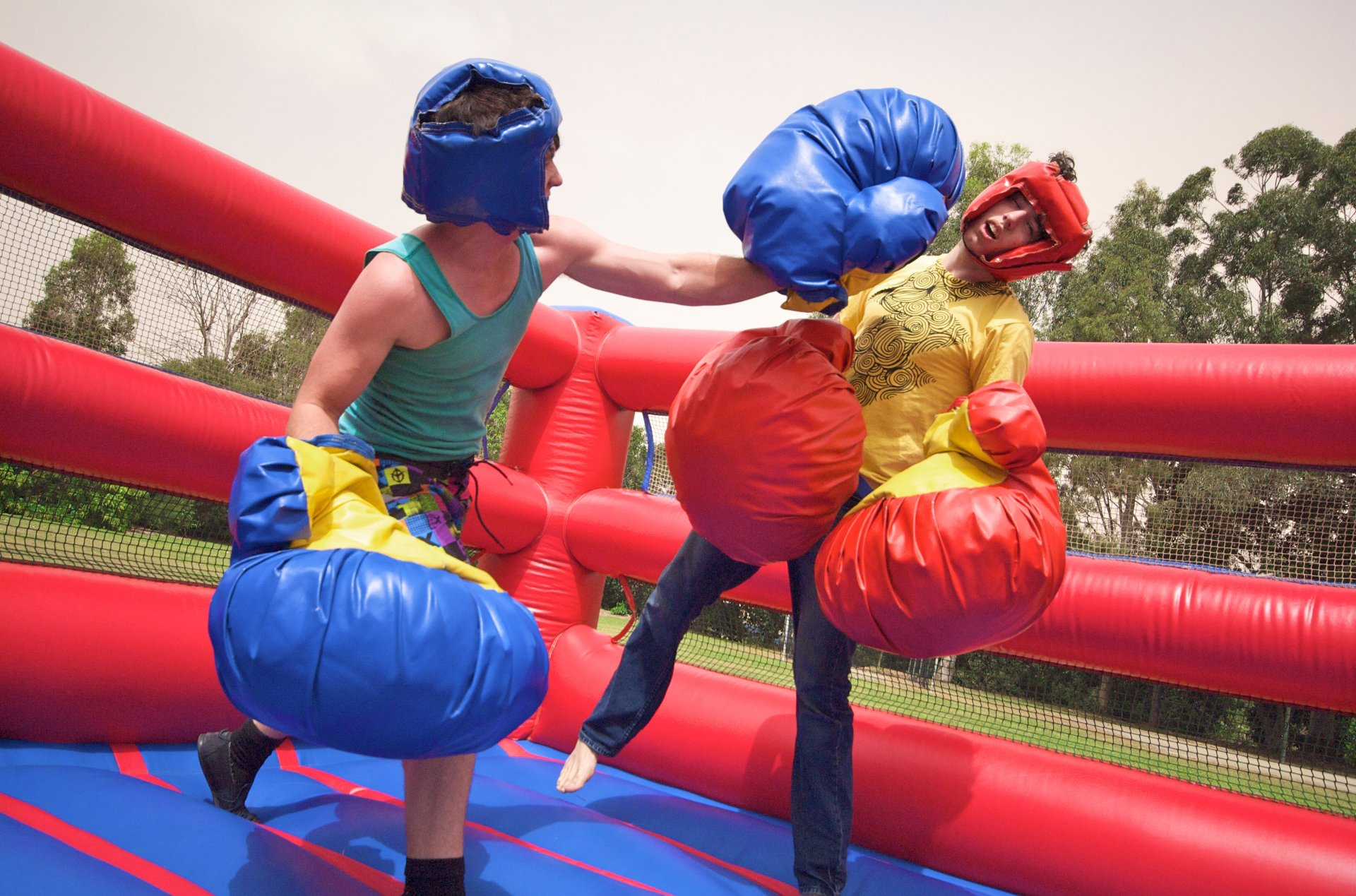 Large Inflatable Boxing Ring