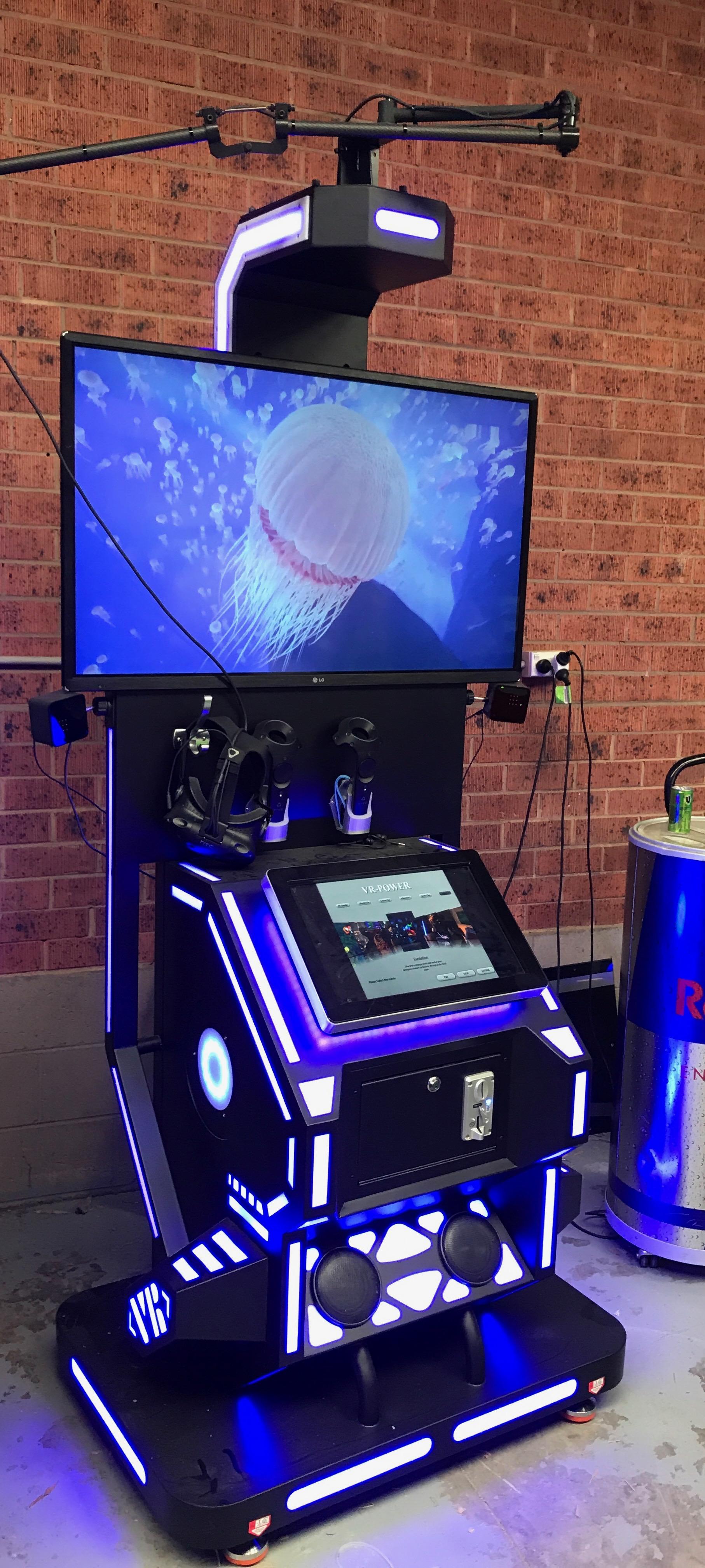 Mixed Virtual Reality Machine | Big Fun