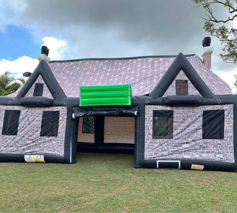 Inflatable pub bar fun hire rent bigfun queensland brisbane party