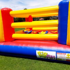 Rent bouncy boxing inflatable amusement ride fun big fun Australia sydney