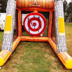 axe thow game big fun game sydney