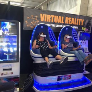 deluxe VR egg virtual reality hire