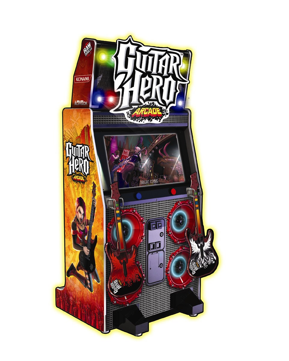 guitar hero arcade hire big fun. Black Bedroom Furniture Sets. Home Design Ideas