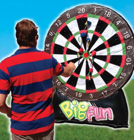 Inflatable Darts Hire Big Fun